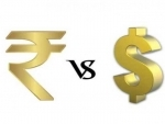 Indian Rupee falls by 10 paise against USD