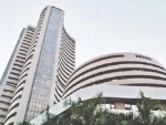 Sensex up by 179.59 pts