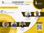 First session of Leadership Summit 2020 organised by the Alumni Cell of IIT-K is on financial inclusion
