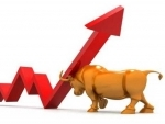 Sensex registers over 370 pts hike, crosses 32k mark