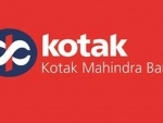 Kotak Bank moves down by 2.10 pc to Rs 1336