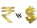 Rupee falls 10 paise against USD
