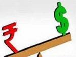 IndianRupee improves 4 paise against USD