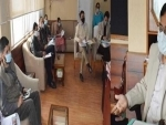 Com Secy reviews progress on recommendations of committee on business revival in J&K