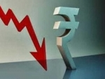 Indian Rupee down by 21 paise against USD