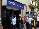 SBI drops by 4.64 pc to Rs 170.50