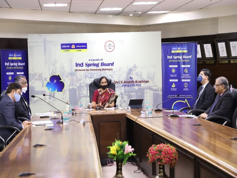 Indian Bank launches IND Spring Board to finance start-ups