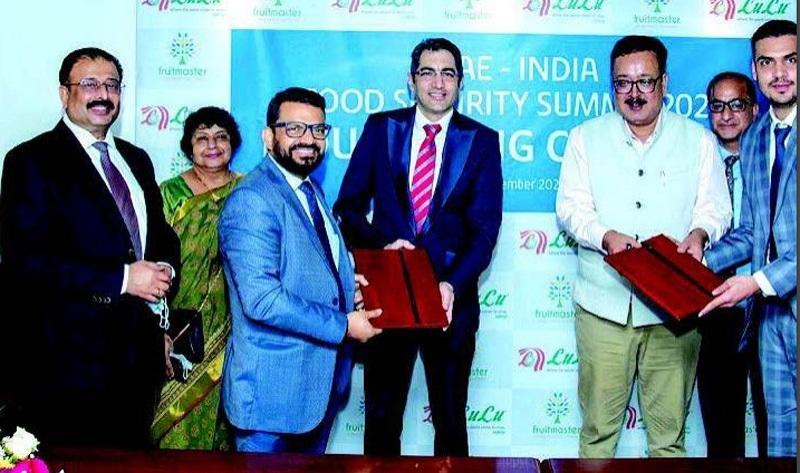 UAE-India Food Security Summit-2020 | Lulu group inks MoU with Fruit Master Agro Fresh J&K