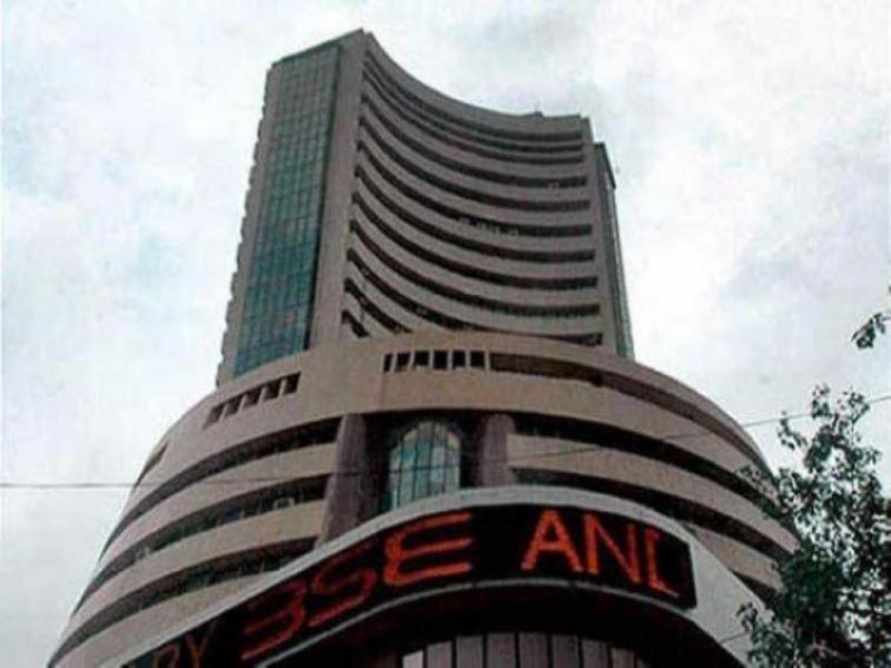 Sensex regains 283 points