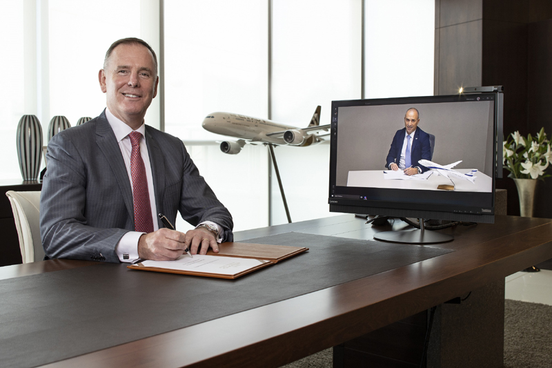 EL AL Israel Airlines and Etihad Airways announce to deepen ties after signing MoU