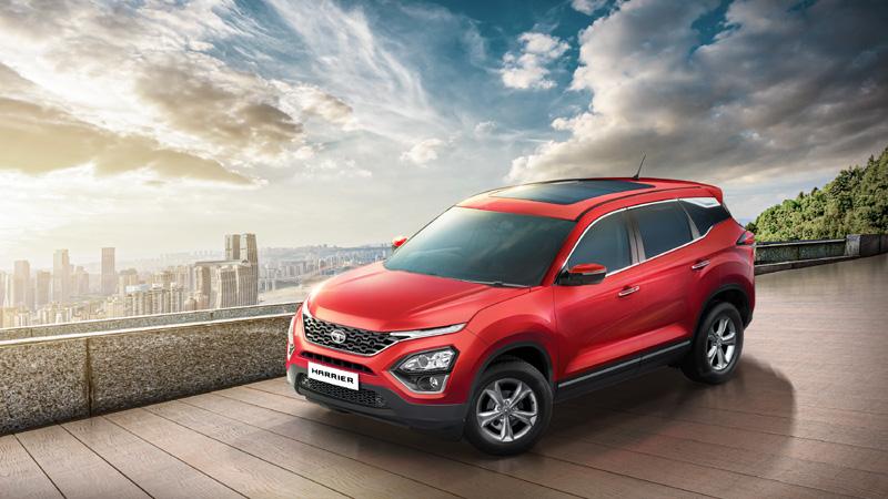 Tata Motors launchesHarrier XT+