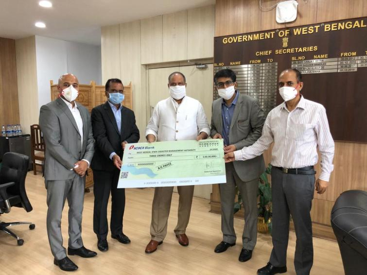 ICICI Bank commits Rs. 4 crore towards West Bengal cyclone relief