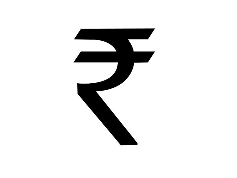 IndianRupee down 40 paise against USD