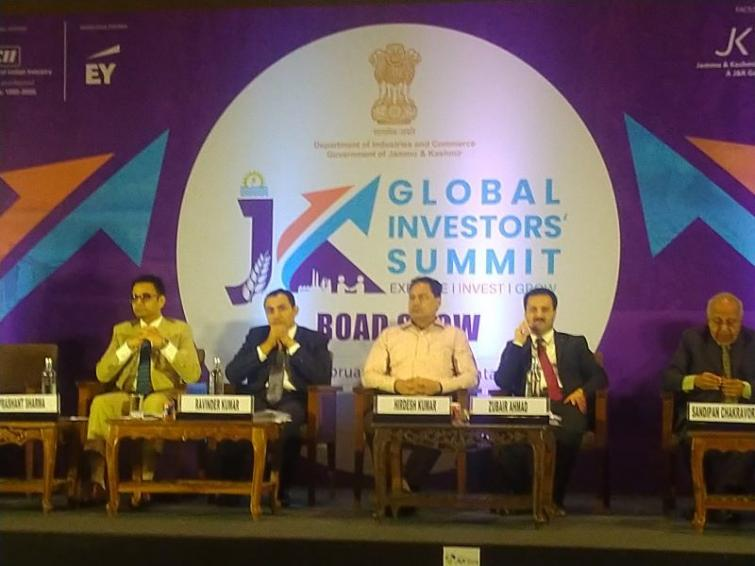 Ahead of Jammu Kashmir Global Investors' Summit, officials showcase investment opportunities and industrial policy in a roadshow