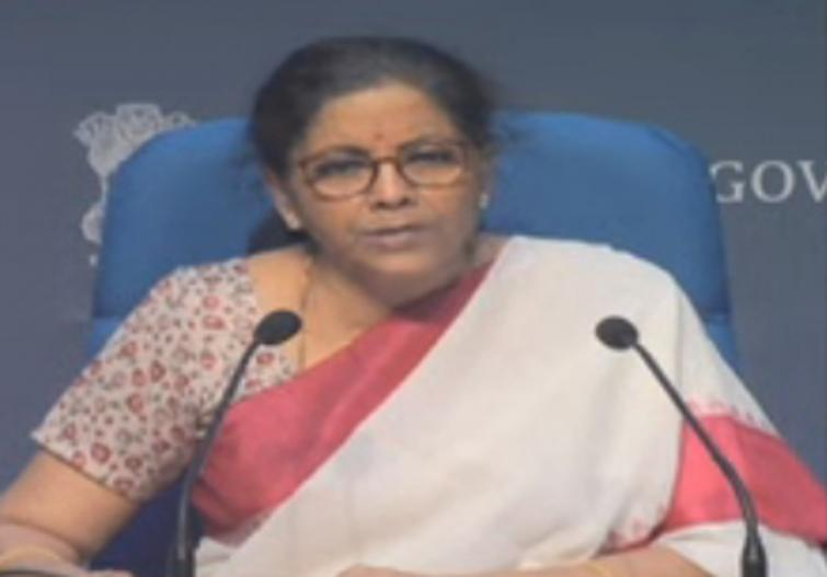 Nirmala Sitharaman starts her third press briefing
