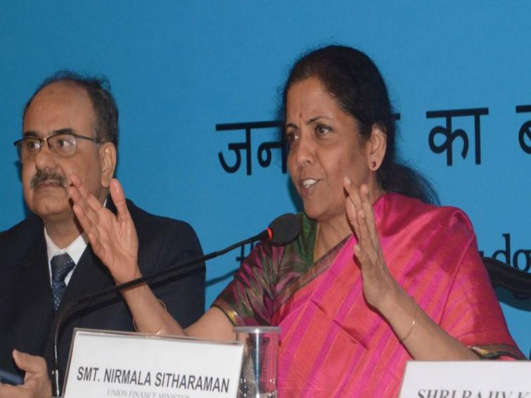 FM holds interactive session on 'Budget and Beyond' with professionals