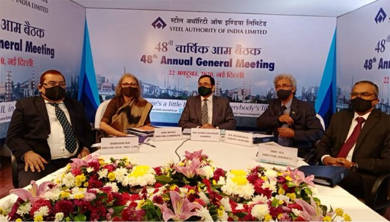 SAIL surging ahead with steely resolve and commitment to Atmanirbhar Bharat: Chairman