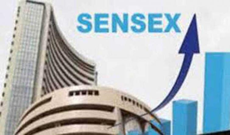 Indian Market: Sensex ends all-time high at 44,655.44 pts