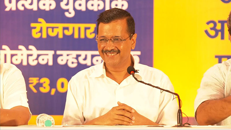 Arvind Kejriwal makes seven new promises to Goa people as AAP counters BJP