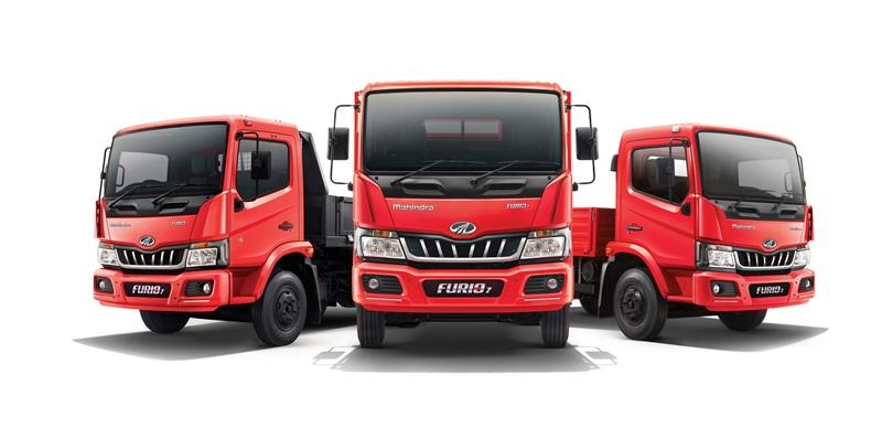 Mahindra launches all new FURIO 7 range of LCV Trucks