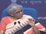 Nirmala Sitharaman announces Rs. 1.1 lakh crore loan guarantee scheme for COVID-19 affected sectors