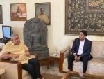ASSOCHAM newly appointed chairman Ravi Agarwal meets WB Governor Jagdeep Dhankar