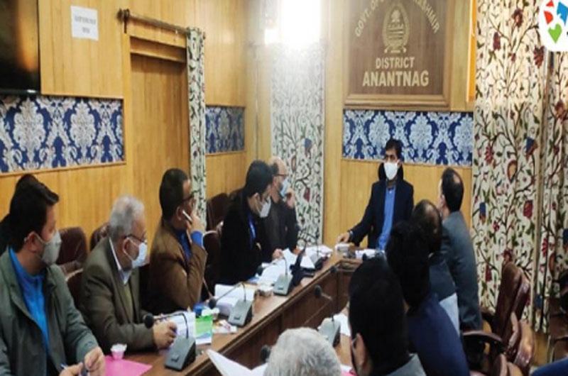 Jammu and Kashmir Bank conducts Anantnag DLRC meet