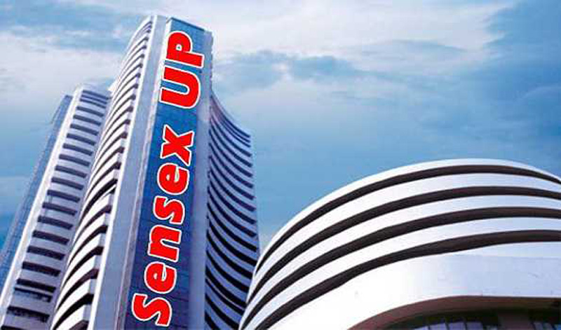 Sensex moves up by 200 points during early trade
