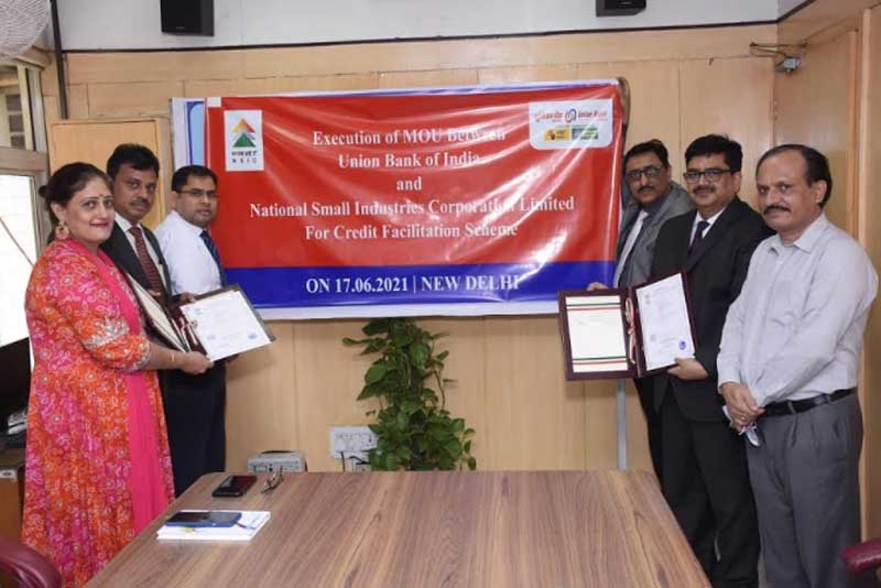 Union Bank of India inks MOU with The National Small Industries Corporation Ltd