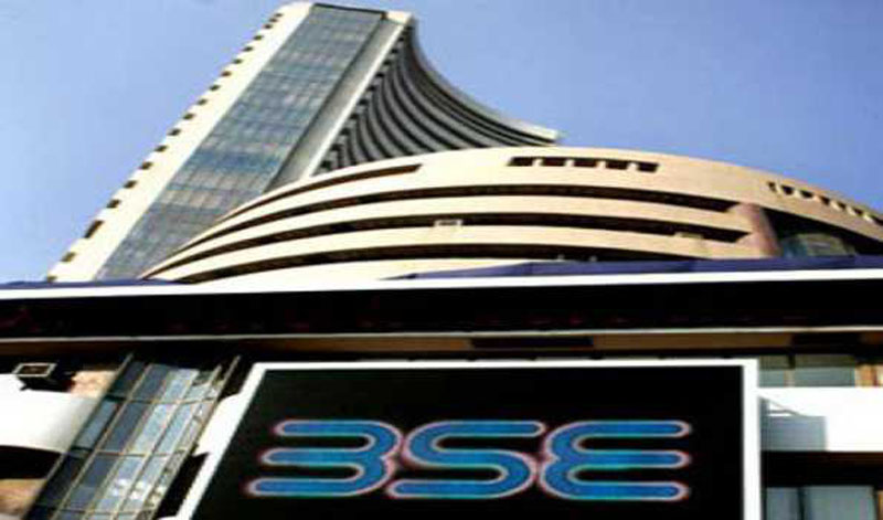 Sensex goes up over 400 pts