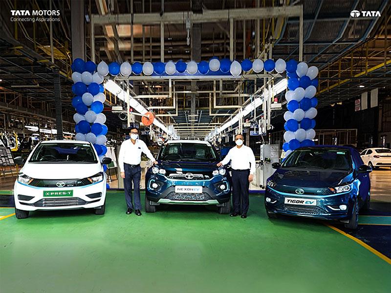 Tata Motors celebrates 10,000 EV customers
