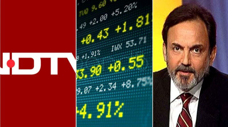 NDTV shares hit upper circuit for two days over Adani buyout rumour