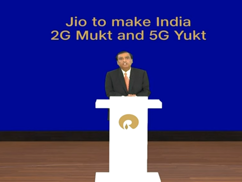 Low-cost 4G smartphone JioPhone Next announced in RIL AGM