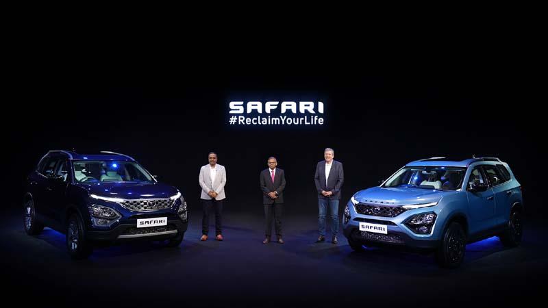 Tata Motors launches its iconic flagship SUV Safari