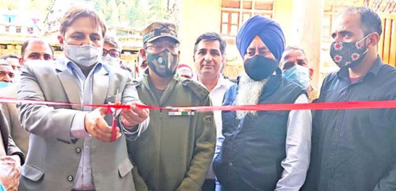 Jammu and Kashmir Bank opens new business unit at Sawjian village in Poonch