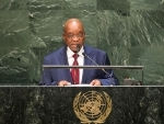 South Africa's President pledges to support Ebola-affected nations, conflict-ridden countries