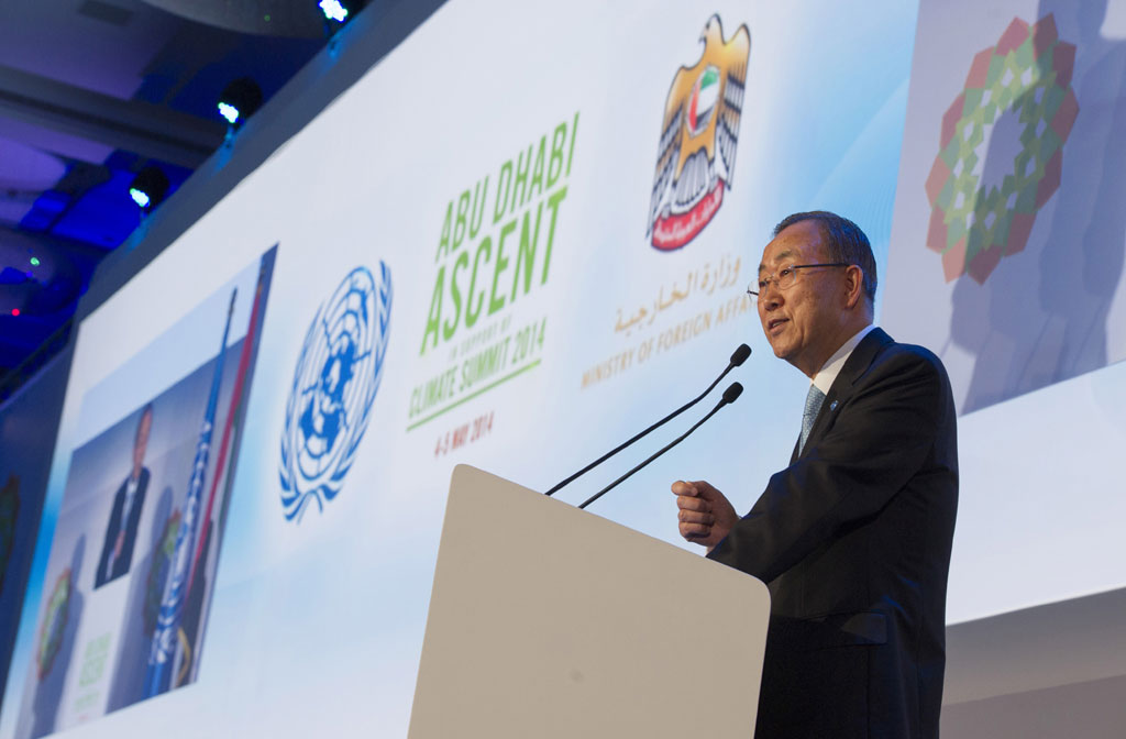 Abu Dhabi: Ban urges concrete actions to tackle climate change