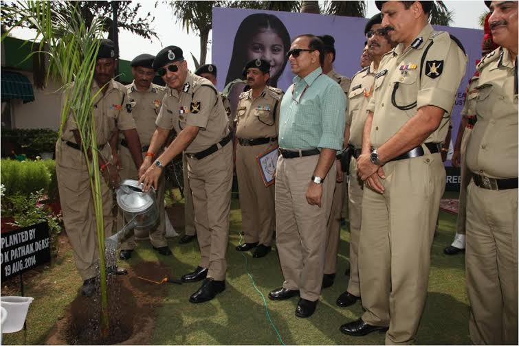 BSF men set Limca Book of Records in tree planting