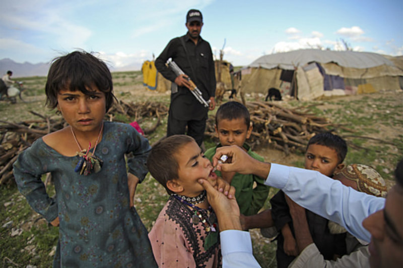 Ahead of World Day, UN hails landmark global polio eradication campaign
