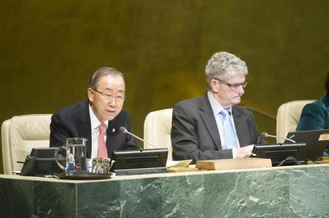 At high-level forum, top UN officials urge bridging digital divide to 'power' sustainable development
