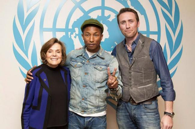 'We have to move from climate change to climate action,' Pharrell Williams says at UN event
