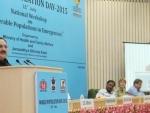 Health Minister moots Mission Mode for population stabilisation