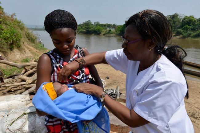 UNICEF, UN health agency report increase in immunization figures for world's children