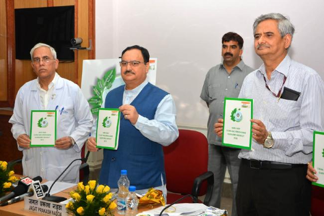 JP Nadda launches 'Clean and Green Campaign' in Delhi AIIMS
