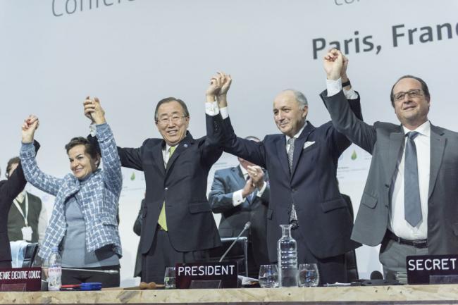 COP21: UN chief hails new climate change agreement as 'monumental triumph'