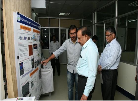 Union Minister Harsh Vardhan visits Centre for Nano Sciences