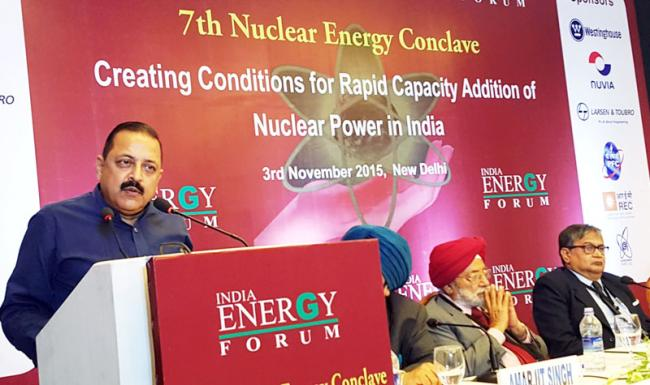 Jitendra Singh inaugurates 7th Nuclear Energy Conclave in New Delhi