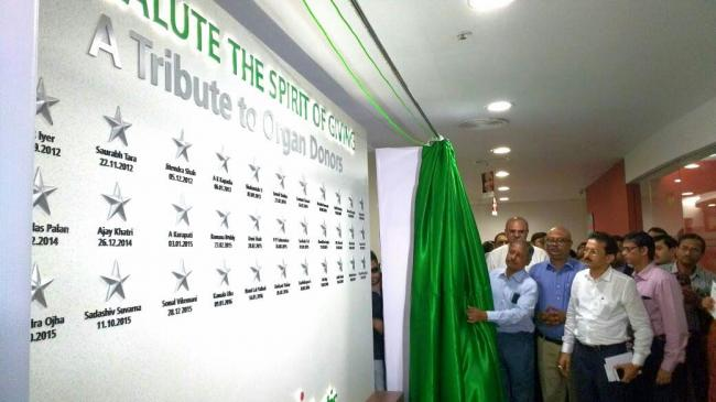 Fortis dedicates 'Wall of Tribute' to organ donors