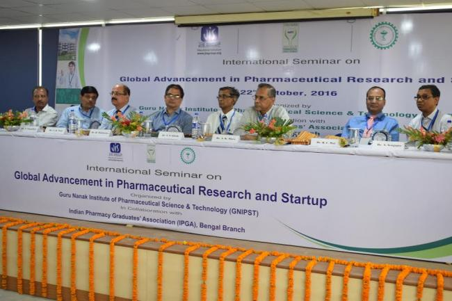 """Kolkata hosts seminar on """"Global Advancement In Pharmaceutical Research and Startup"""""""