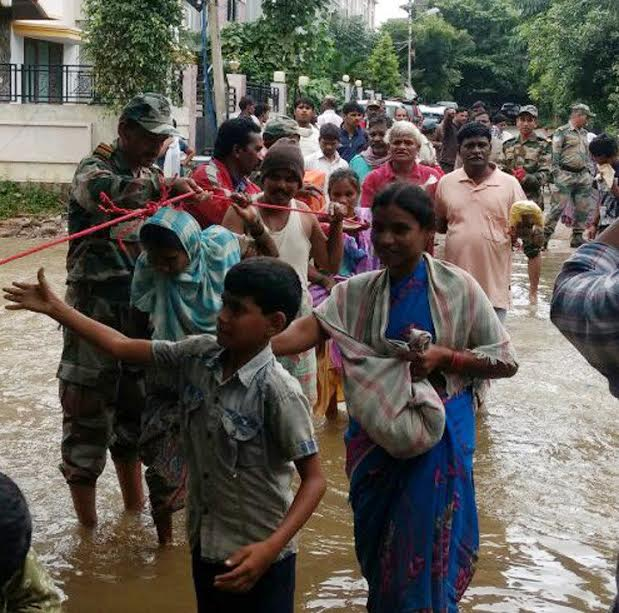 Army alerted as more rain forecast for Hyderabad